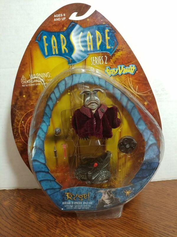 Series 2 farscape action figure Rygel Toy Vault NIP