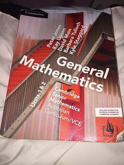 Wanted: General mathematics Unit 1&2