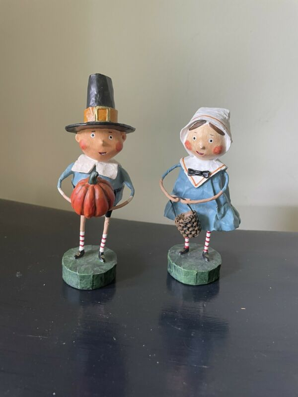 "Lori Mitchell Figurines Set Of 2 ""TOM & GOODIE"" ***NEW***"