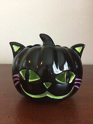 Bath & Body Works Halloween BLACK CAT TEA-LIGHT Candle Holder](Work Halloween)