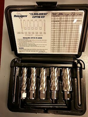 Hougen 12002 Rotabroach 2 Doc 5 Pc Cutter Kit - New - 916 - 1 116 Sizes