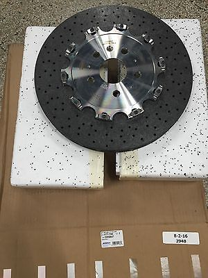 2014 15 Chevy Camaro Z28 Rear Carbon Ceramic Rotors Gm Oem 22958647 177 1165