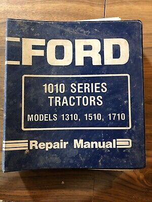 Ford 1010 Series Tractor Repair Manual 1310 1510 1710