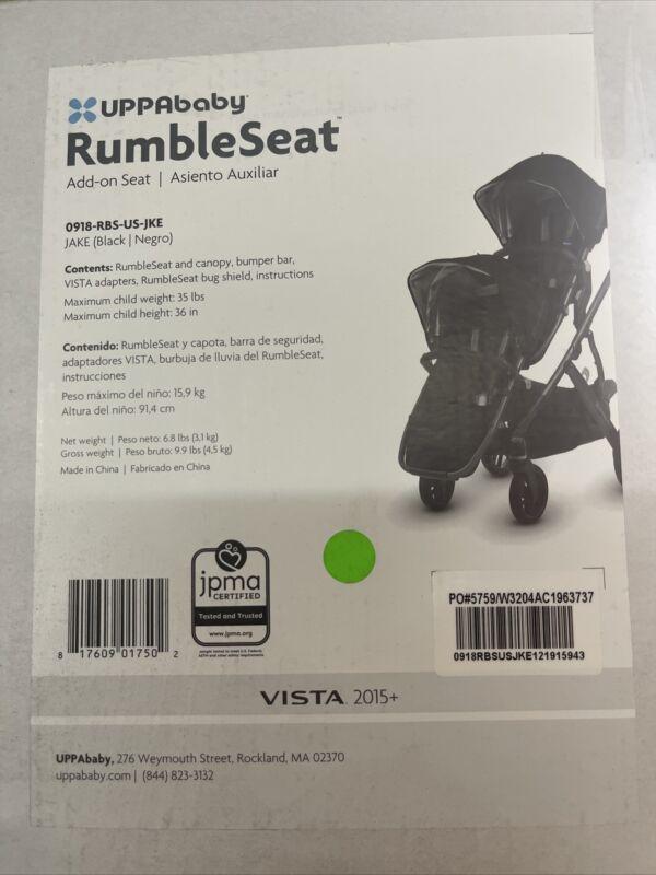 UPPAbaby JAKE (Black) Rumble Seat Add-on Seat Vista 2015+