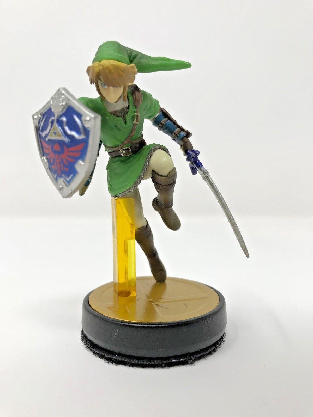 Link Amiibo Super Smash Bros Series Zelda Nintendo Switch, Wii U, 3DS Get Epona