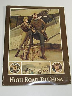 High Road To China Pressbook- Tom Selleck; Bess Armstrong; Warner Brothers 1983