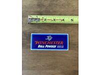 Winchester Ball Powder Sticker//Decal Gun Hunting Ammo Shot Show 2019 Authentic