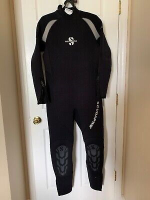 5mm Farmer John 2 Piece Wetsuit Cold Water Suit 4X 4050 Gold Mining