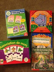 French games and books
