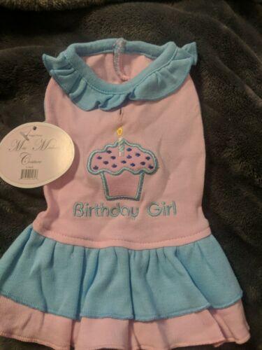 Birthday Girl Dog Dress Xs - $9.40