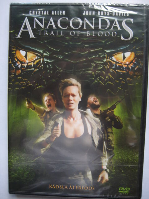 Anacondas Trail of Blood (DVD, 2009) NEW SEALED (Nordic Packaging) Region 2 PAL