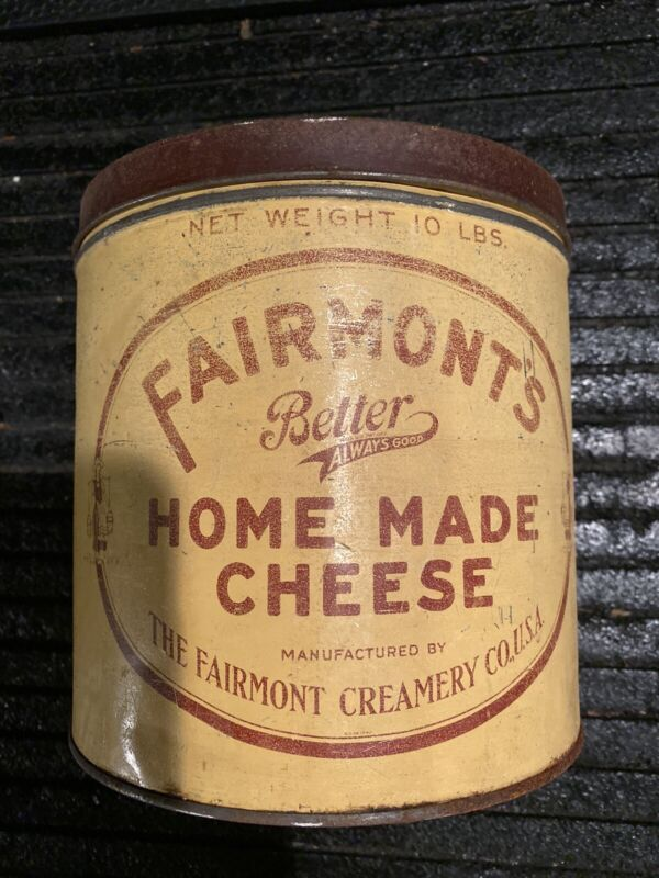Vintage Fairmont's Cheese Can