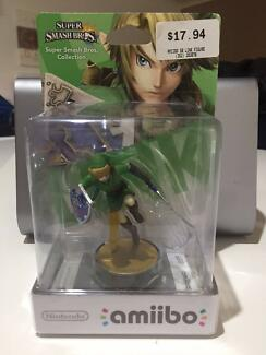 Nintendo Super Smash Bros. LINK Amiibo Legend of Zelda Wii Switch