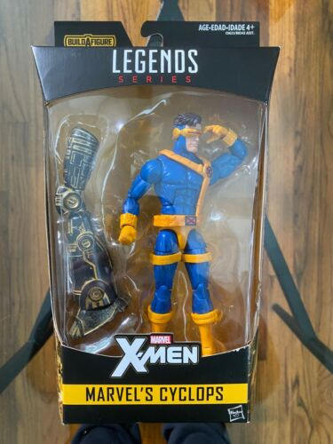 Custom marvel legends Cyclops head cast with Glow in the Dark Effect
