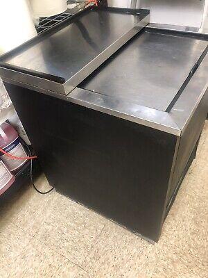 1 Door Back Bar Cooler Beer Bottle Refrigerator True Tbb-1 Commercial Nsf