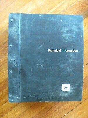 John Deere 6600 7700 6600 Sidehill Combine Technical Manual
