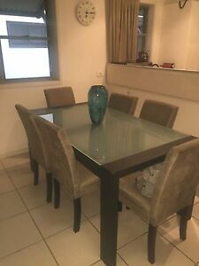 7 Piece Dining Table & Chairs Toowong Brisbane North West Preview