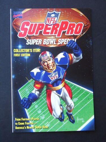 NFL SuperPro Super Bowl Special #1  NM 1991 High Grade Marvel Comic