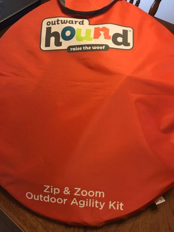 Outward Hound Zip & Zoom Outdoor Agility Kit NIP