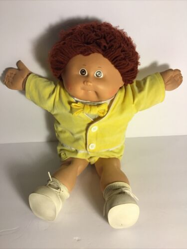 Vintage 1985 OK Factory Cabbage Patch Doll In Used Condition W/first Tooth - $24.99