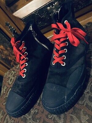 Julien David Men's Navy Suede Leather Sneakers Made In Japan Size US 10.5 $475