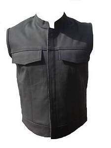 Motorcycle Vest Sons Of Anarchy Style Leather Vest Clayton Monash Area Preview