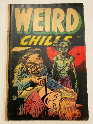 Weird Chills #1 (Key 1954)  Wolverton, Blood Transfusion Cover by Baily