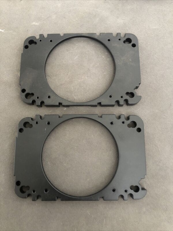 """JL Audio 4x6"""" Hole To 4"""" Speaker Adapter Plates (New)"""