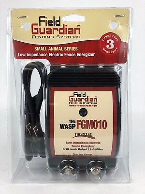 New And Sealed Field Guardian Fencing Systems Fgm010 Wasp For Small Animals