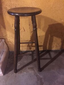 Wooden Bar Stools