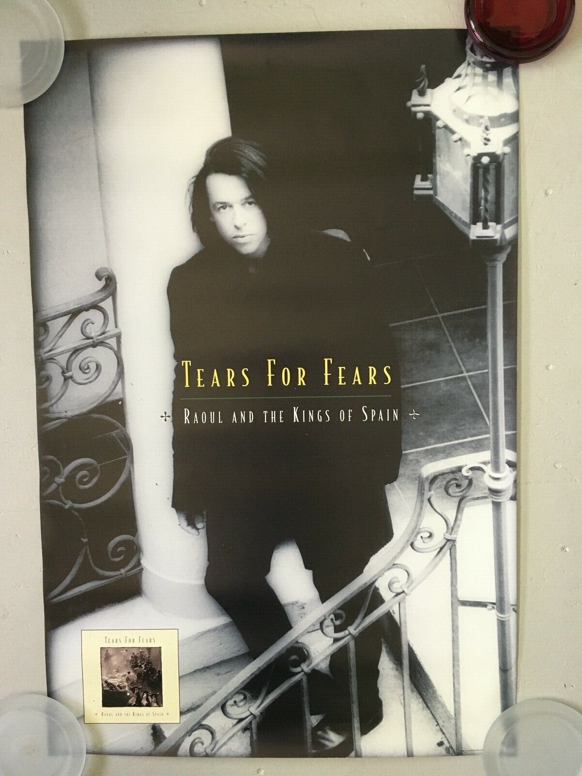TEARS FOR FEARS - Raoul The Kings Of Spain - 95 Promo Poster - 24x36 - USA - $14.99