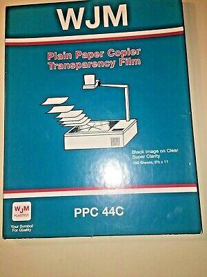 Wjm Plain Paper Copier Transparency Film Ppc 440