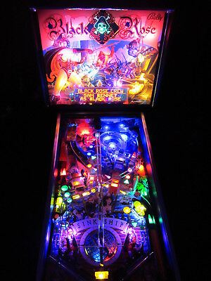 BLACK ROSE Complete LED Lighting Kit custom SUPER BRIGHT PINBALL LED KIT