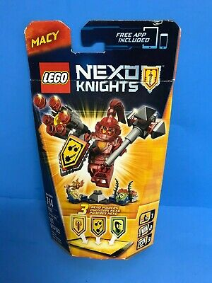 Lego Nexo Knights Ultimate Macy #70331 Building Toy