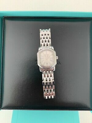 Tiffany & Co. Women's Vintage Tank Watch Stainless Steel Oval (Tiffany Women)
