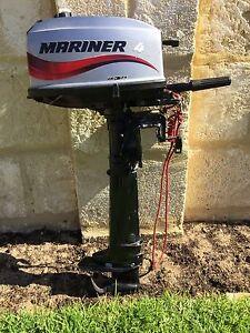Mariner 4hp outboard motor North Fremantle Fremantle Area Preview