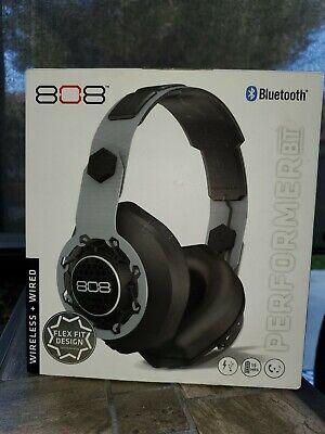 808 Bluetooth Wireless & Wired Headphones