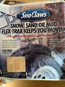 Flex-Trax SnowClaws tire traction system
