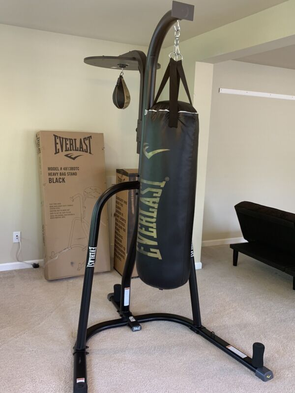 Everlast Dual Bag and Stand