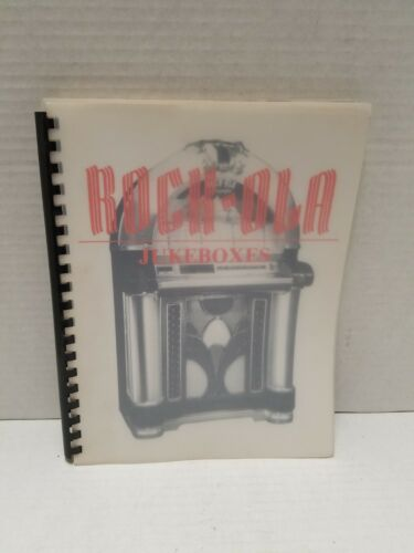 Pictorial Historical Book On Rock-Ola Jukeboxes From 1935 Through 1989