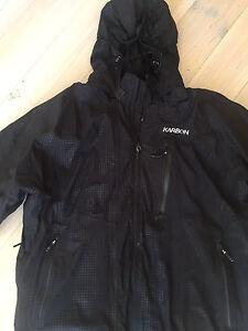 Men's KARBON Extreme 3 Black Snowboard/Ski Jacket sz XL Malvern East Stonnington Area Preview