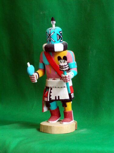 Hopi Kachina Doll - Aya, the Rattle Kachina, by Conrad Torivio - Bold!