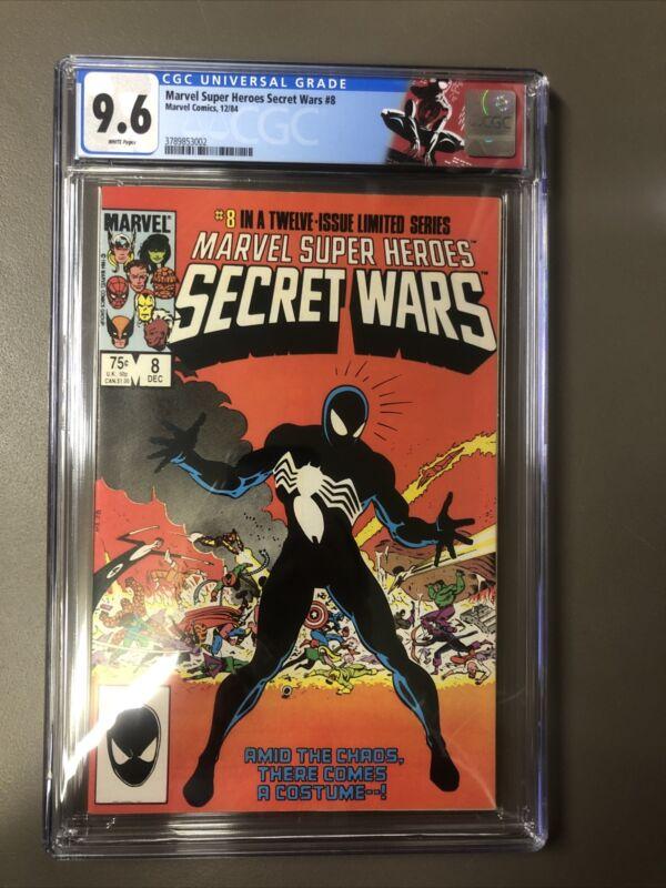 Marvel Super Heroes Secret Wars #8 CGC 9.6 1984 Origin Symbiote Spider-Man Logo