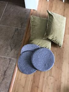 Pillows and chair pads
