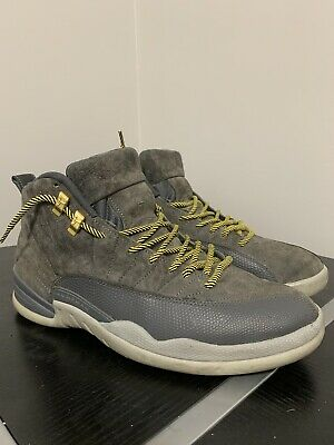"Nike AIR JORDAN 12 RETRO ""DARK GREY"" 130690-005 Size 11.5"