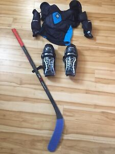 Jr hockey equipment