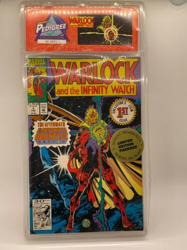 Warlock & The Infinity Watch #1-5 Limited Edition Package UNOPENED FREE SHIPPING