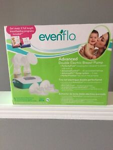 (Barely used) Free pillow with Evenflo double electric pump