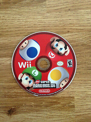 New Super Mario Bros. - NTSC / USA - Nintendo Wii Game Disc Only comprar usado  Enviando para Brazil