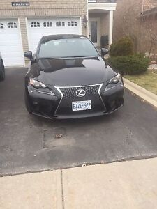 2014 Lexus IS 250 F SPORT AWD Red Leather